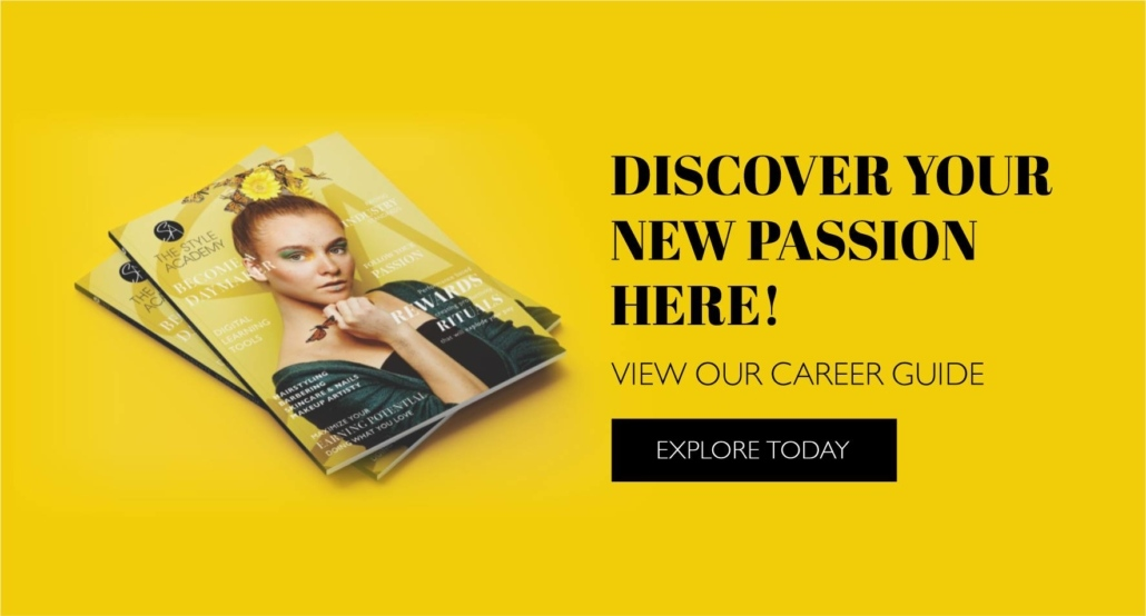 Admissions The style academy 2020 Education Catalogue download banner