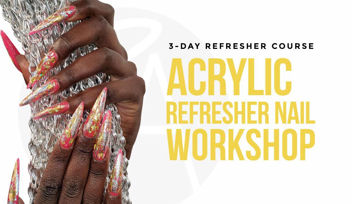 Acrylic Nail Refresher
