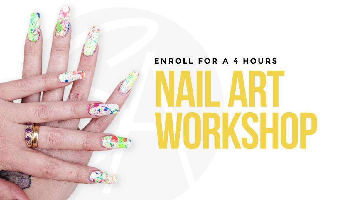 Nail art works by Leanne for New Advanced Nail Art Certificate
